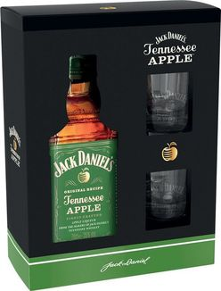 Jack Daniel's Apple 0,7l 35% + 2x sklo GB
