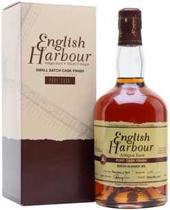 Rum English Harbour Port Cask Finish Batch No. 002 5y 0,7l 46% / Rok lahvování 2017