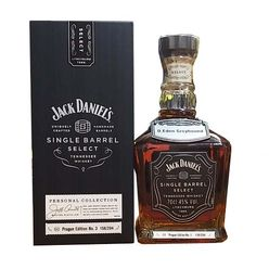 Jack Daniel's Single Barrel Select Prague Edition No.3 Private Collection 0,7l 45%