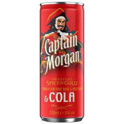 Captain Morgan Cola 0,25l 5%