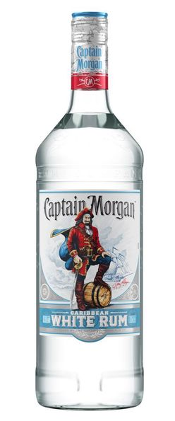 Captain Morgan White 1l 37,5%